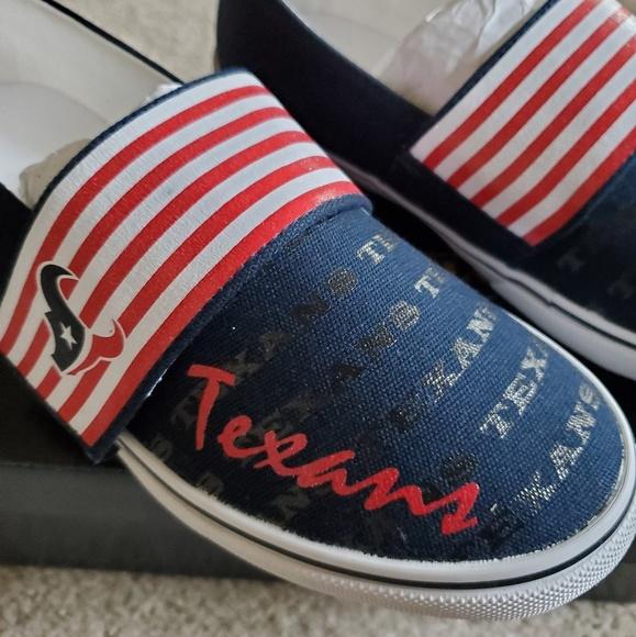0aff4430 Houston Texans NIB women's sneakers Boutique